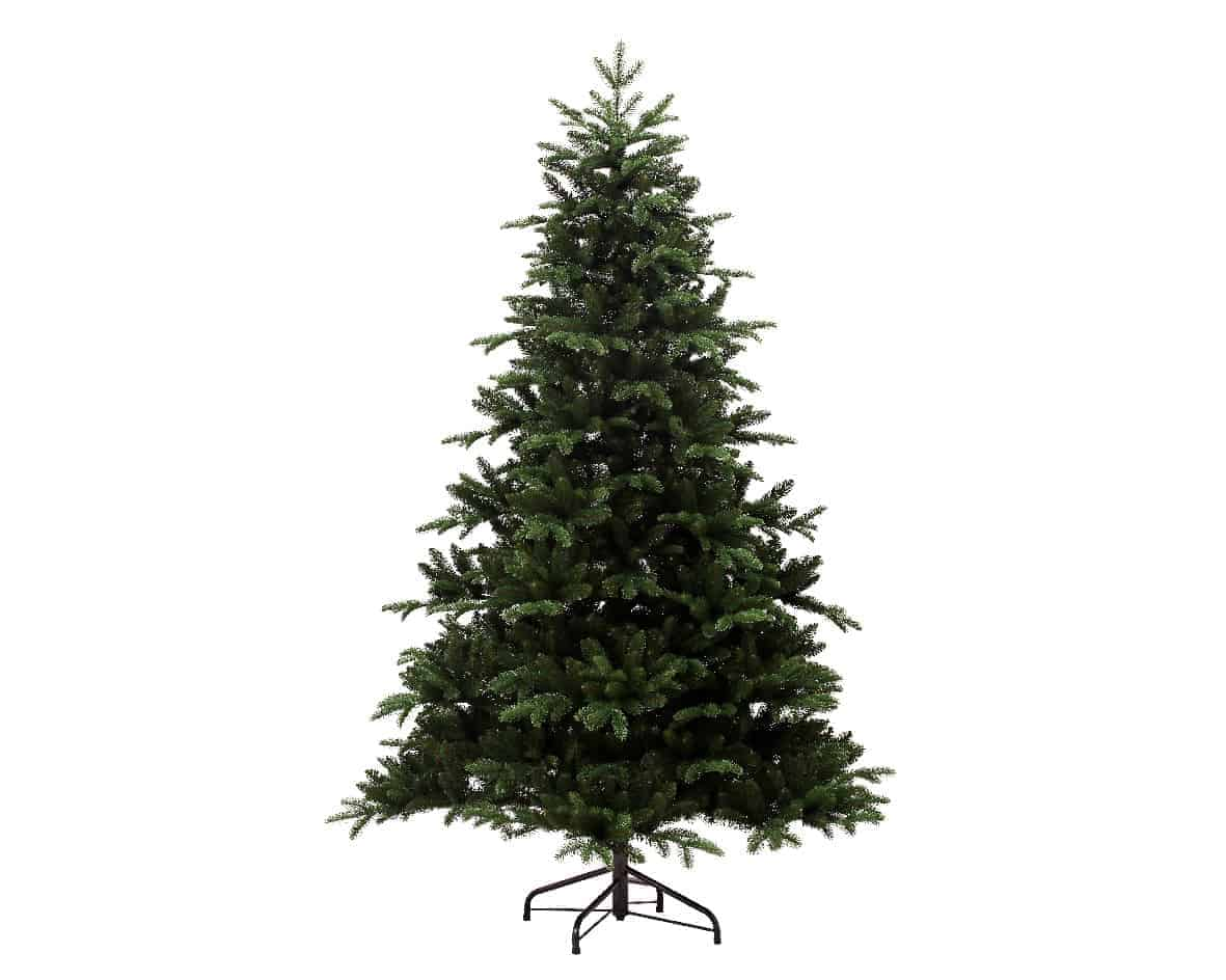 8ft Noble Pine Artificial Christmas Christmas Tree - Artificial Christmas Trees For Sale Dublin Ireland