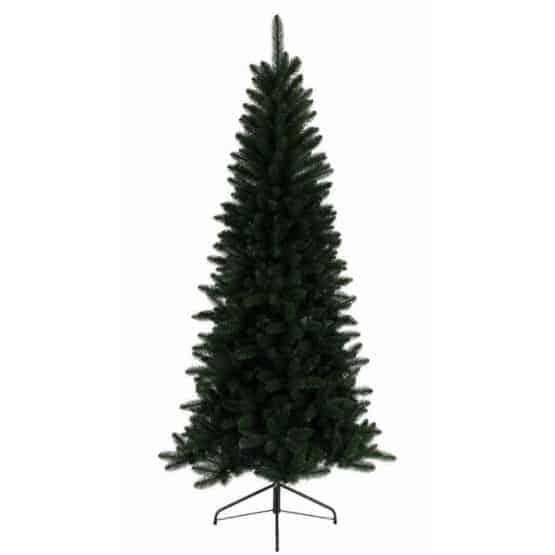 7ft Lodge Slim Pine Artificial Christmas Tree - Artificial Christmas Trees For Sale Dublin Ireland
