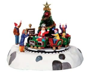 Lemax Santa's Kiddie Train Table Accents *Collection Only*