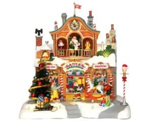 Lemax Santa's Workshop Sights and Sounds *Collection Only*