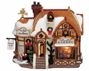 Lemax Devaney' Bakery Lighted Building Facade *Collection Only*