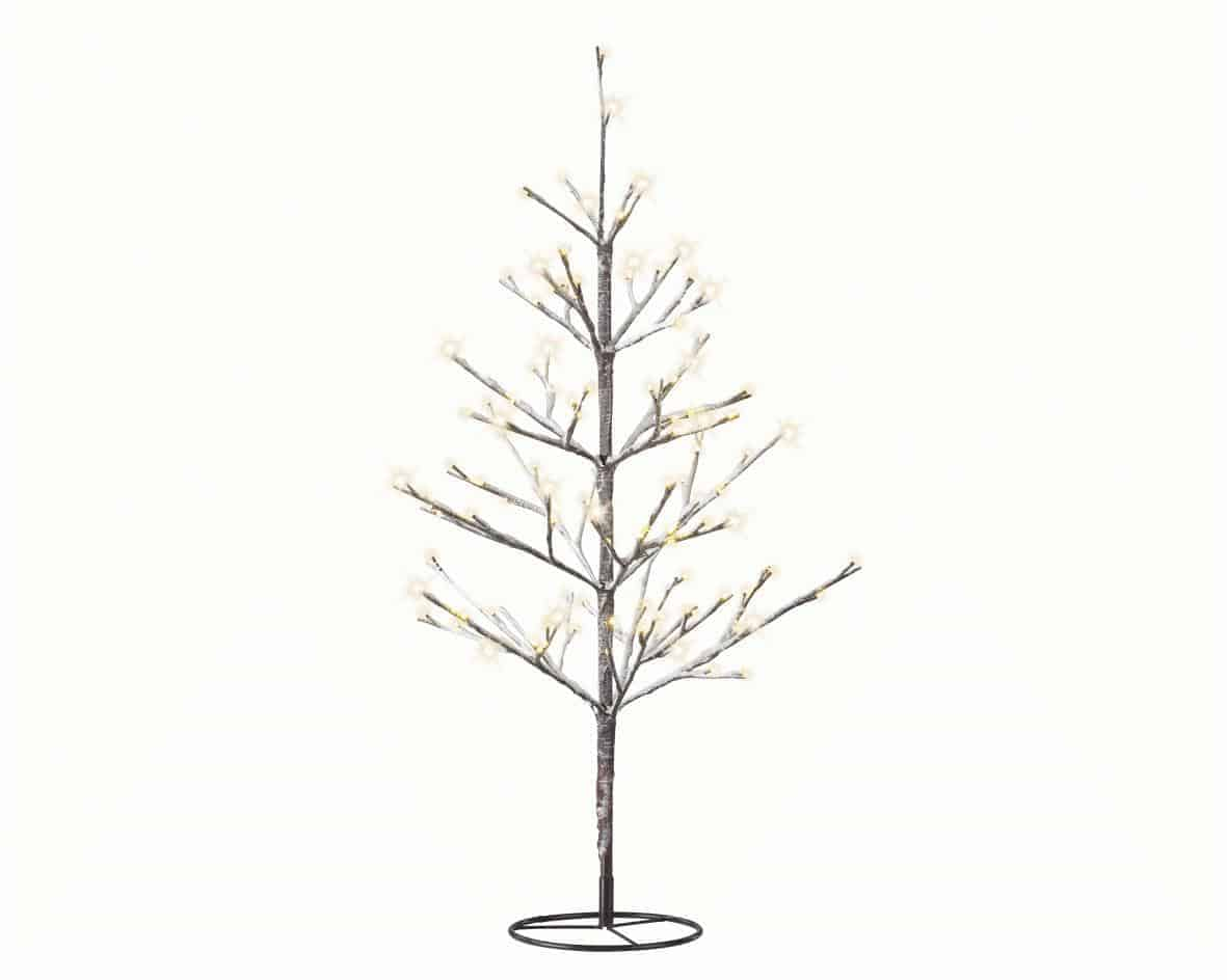 4ft Christmas Tree.4ft 6ft Led Snowy Artificial Christmas Tree Warm White Lights Online Only