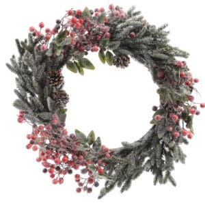 Christmas Wreath - Mixed Berries - Christmas Decorations