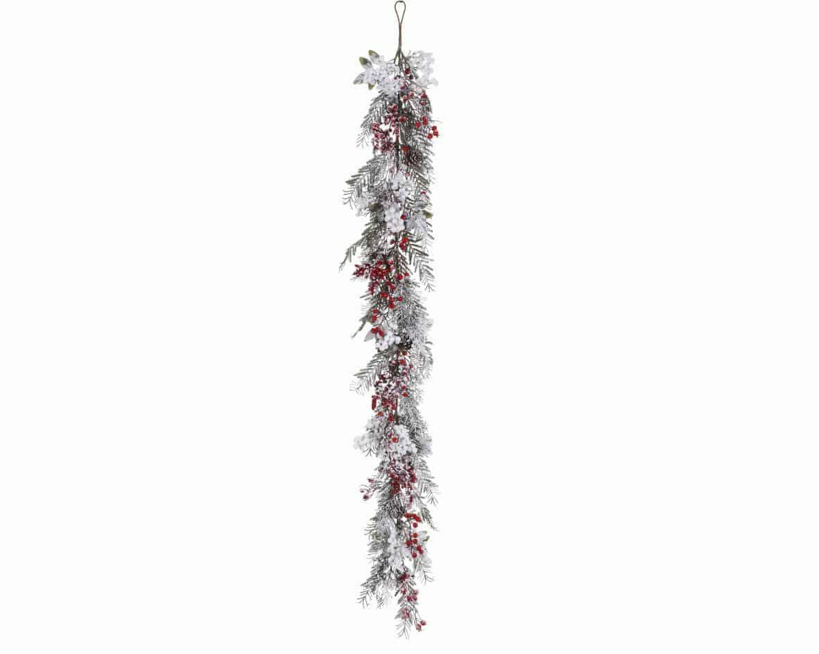 Christmas Garlands & Wreaths | Christmas Garland - Mix Berries ...