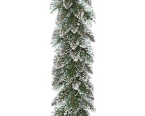 9ft Frosted Finley Pine Christmas Garland *Online Only*