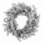 Snowy Nordmann Christmas Wreath For Sale Dublin Ireland