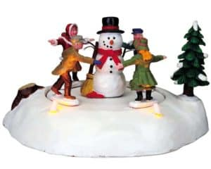 Lemax The Merry Snowman Table Accents *Collection Only*