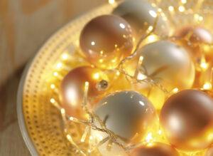 1000 LED Warm White Compact Twinkle Christmas Lights
