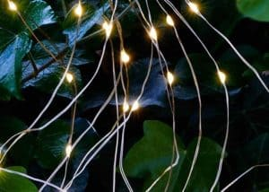 Warm White Micro Led Bunch Christmas Lights With Flash (Indoor/Outdoor)