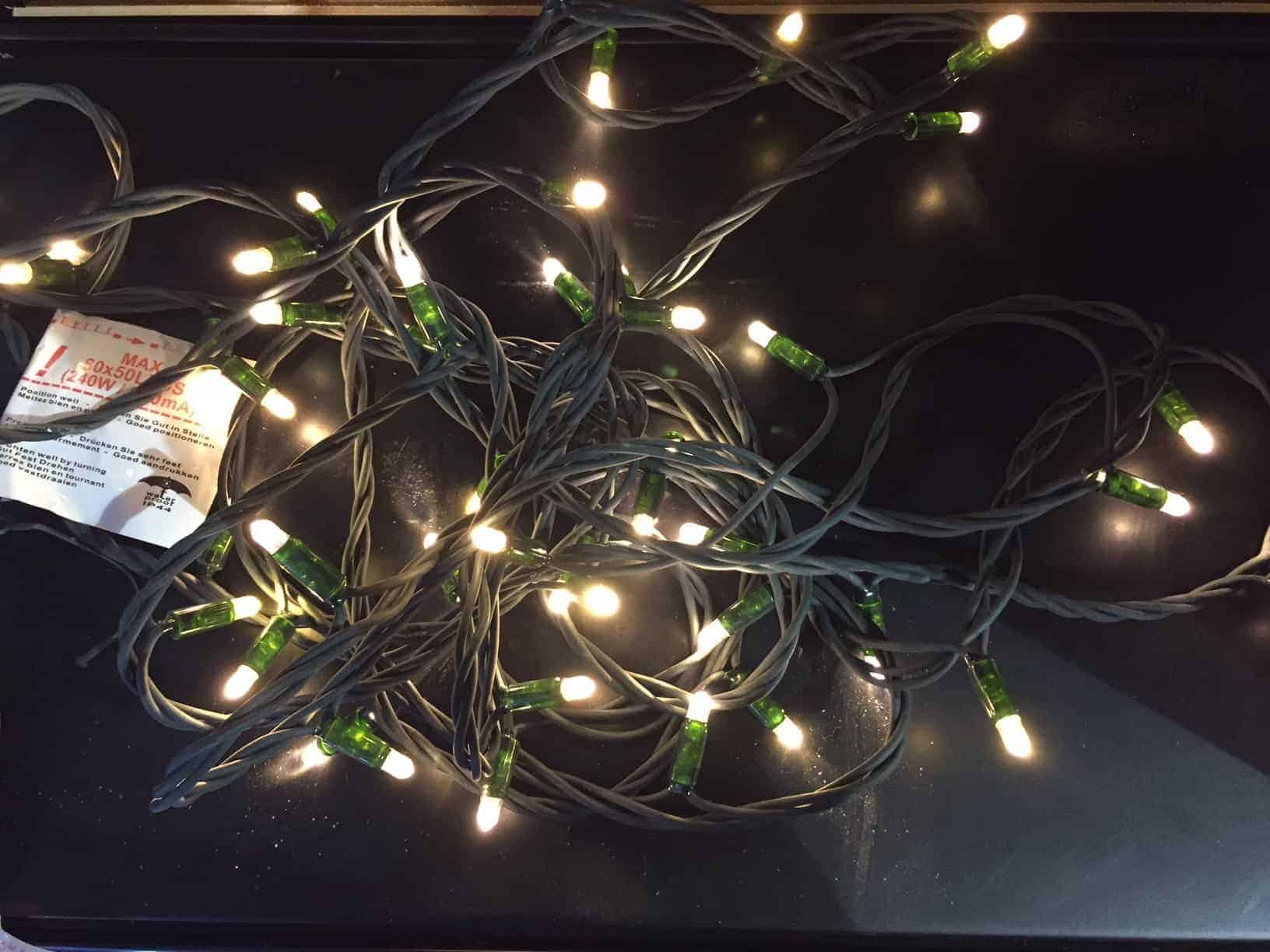 Led Outdoor Christmas Lights.Led Xp Heavy Duty Connectable Outdoor Christmas Lights Warm White Fdl 10m