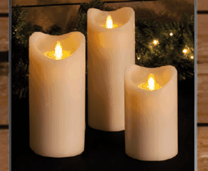 Real Flame Battery Candles