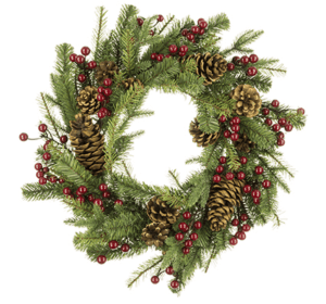 "24"" (60cm) Arlington Natural Christmas Wreath"