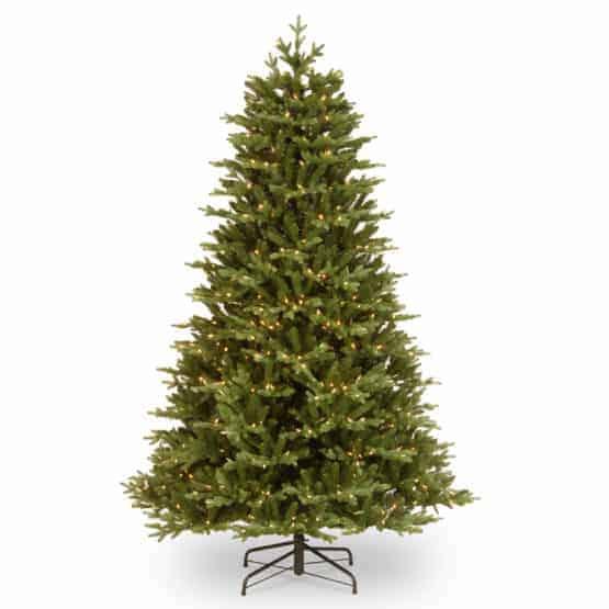 7.5ft Brookfield Fir Pre-Lit Artificial Christmas Tree For Sale Dublin