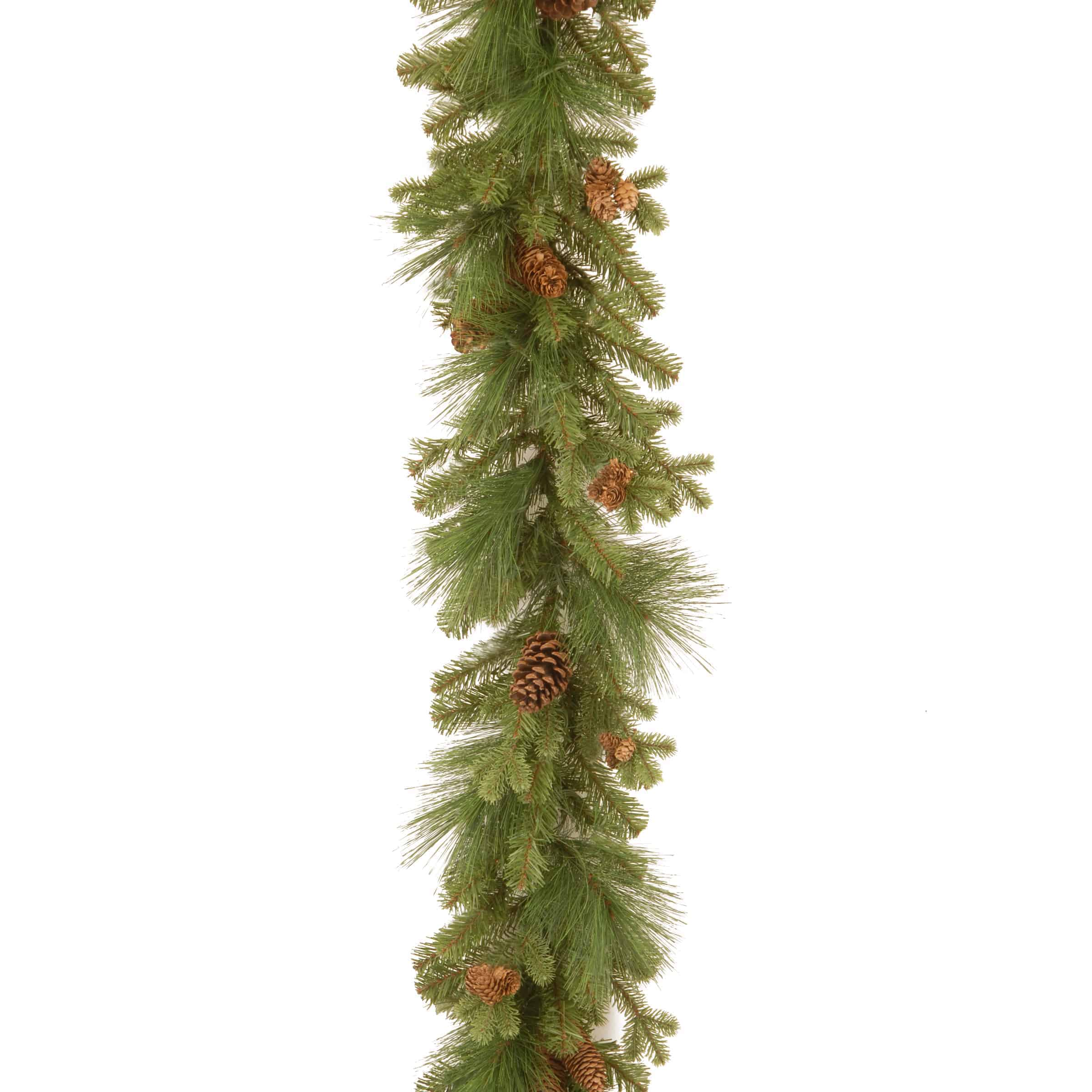 Christmas Garlands & Wreaths | Country Christmas 9ft Garland *ONLINE ...