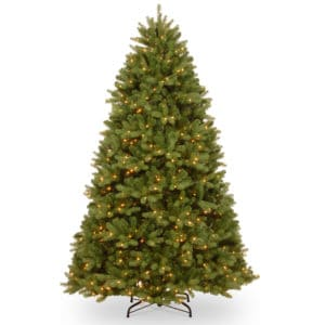 7.5ft Newberry Spruce Pre-Lit Artificial Christmas Tree