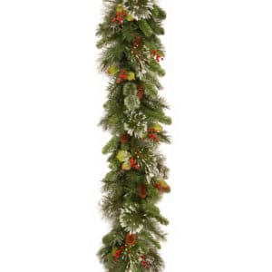 Wintry Pine Garland - Christmas Garlands For Sale Dublin Ireland