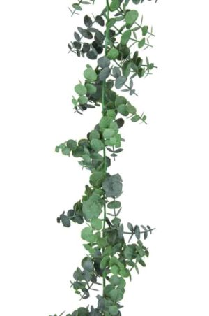 6ft Spiral Eucalyptus Christmas Garland