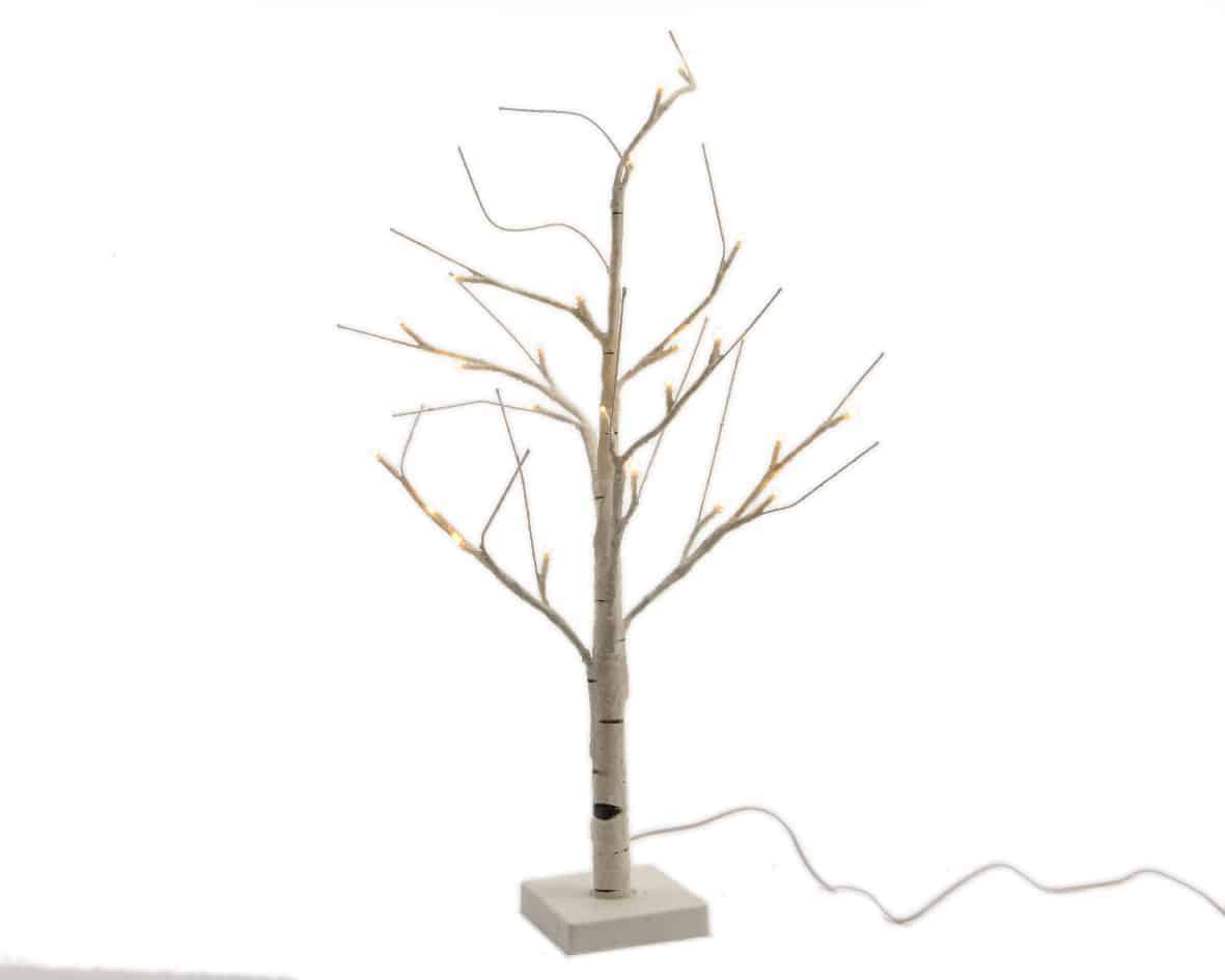 8ft/240cm LED Birch Artificial Christmas Tree - Artificial Christmas Trees For Sale Dublin Ireland