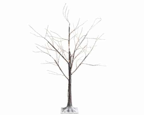 6ft LED Brown Birch Artificial Christmas Tree For Sale Dublin
