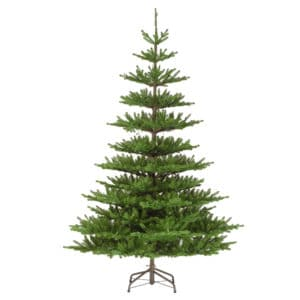 7.5ft Imperial Spruce Hinged Artificial Christmas Tree - Artificial Christmas Trees For Sale Dublin Ireland