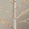 6ft LED White Birch Artificial Christmas Tree For Sale DUblin
