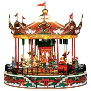 Lemax Santa Carousel *Collection Only*