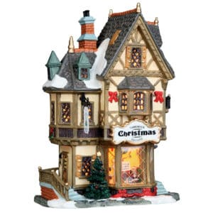 Lemax Tannenbaum Christmas Shop Lighted Building Facade *Collection Only*