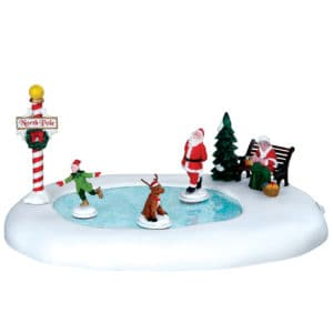 Lemax North Pole Ice Follies *Collection Only*