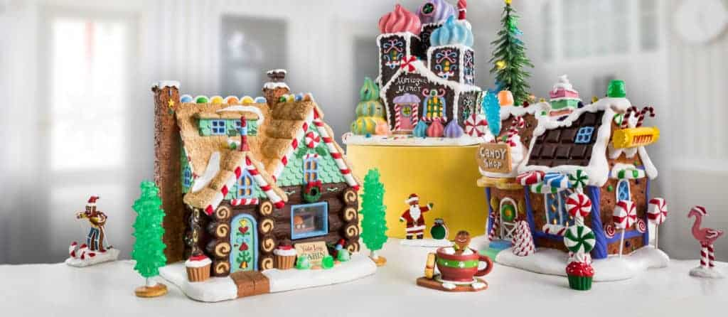 Christmas Scenes - Christmas Decorations - Christmas Houses