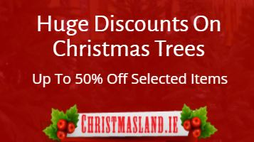 25% Off Christmas Trees