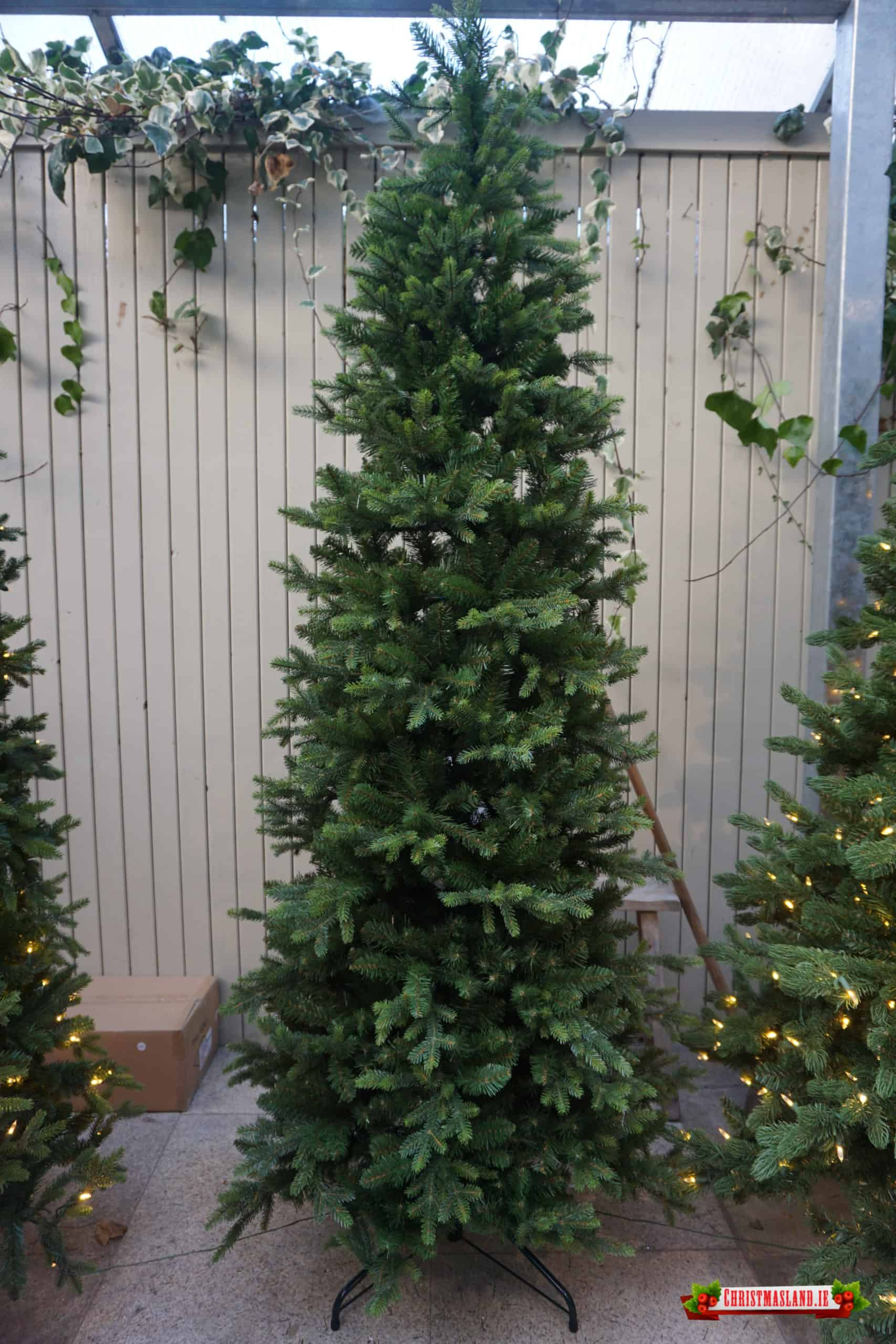 7.5ft Carrington Fir Slim Artificial Christmas Tree