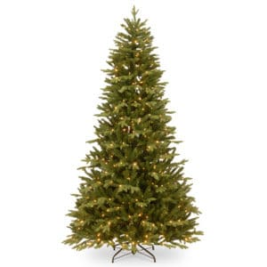 7.5ft Burlington Spruce Pre-Lit Artificial Christmas Tree -Artificial Christmas Trees For Sale Dublin Ireland