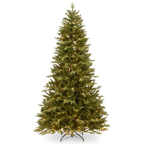 7.5ft Burlington Spruce Pre-Lit Artificial Christmas Tree -Artificial Christmas Trees For Sale Dublin Ireland