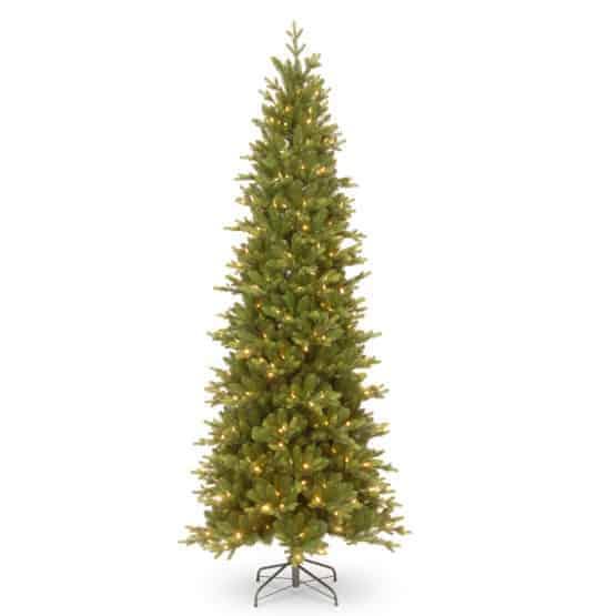 7.5ft Carrington Fir Slim Pre-Lit Artificial Christmas Tree For Sale Dublin Ireland