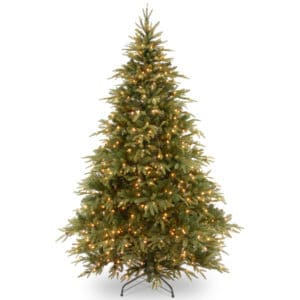 7.5 ft Warrington Spruce Pre-Lit Artificial Christmas Tree - Artificial Christmas Trees For Sale Dublin Ireland