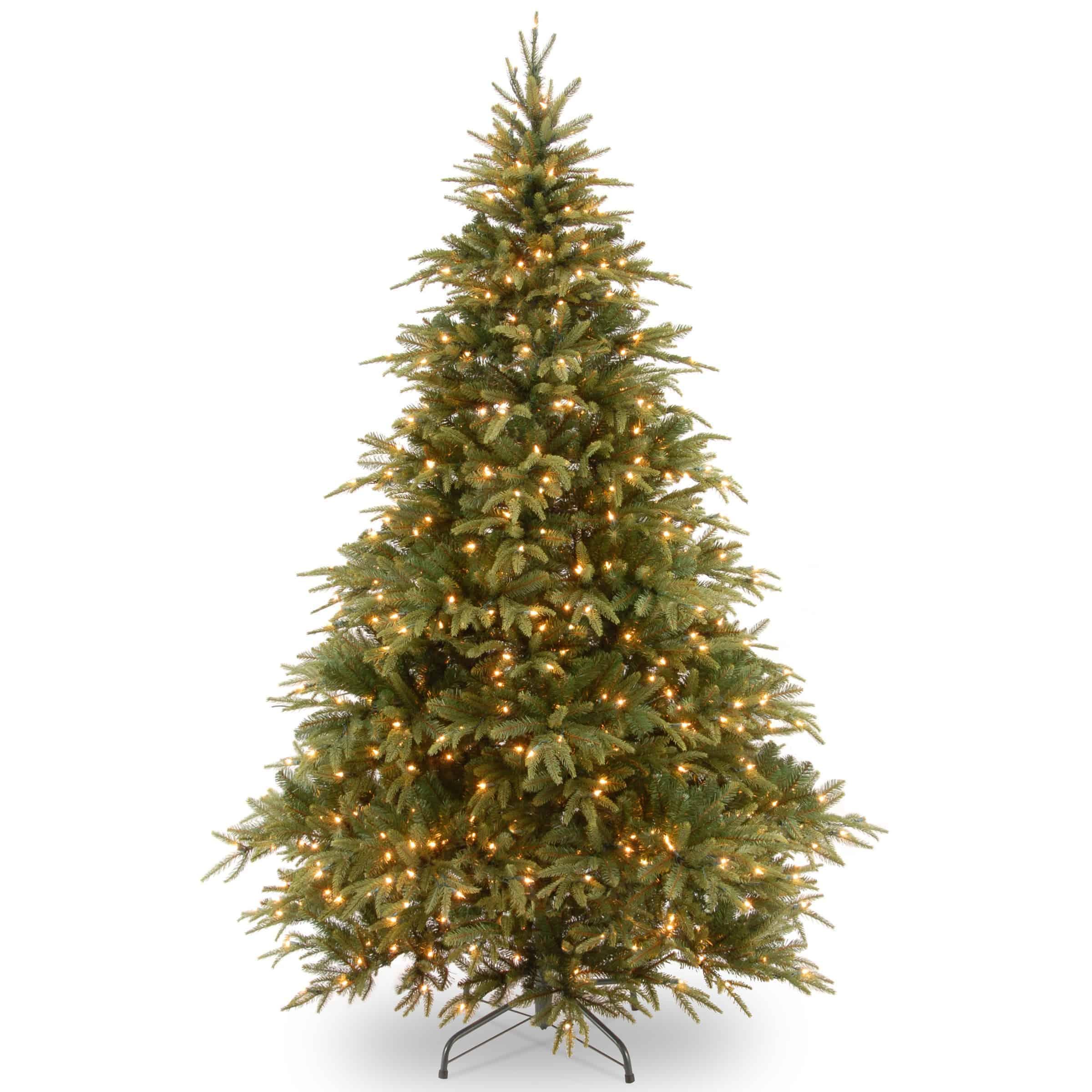 Pre Lit Christmas Tree Clearance.7 5 Ft Warrington Spruce Pre Lit Artificial Christmas Tree Online Only