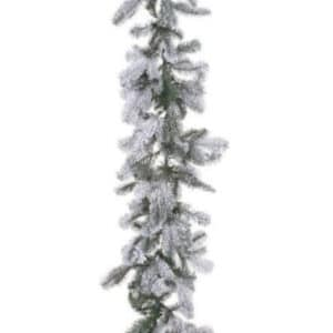9ft Snowy Nordmann Christmas Garland *Online Only*