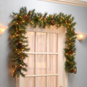 Christmas Garlands Pre-Lit