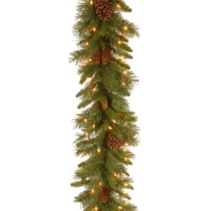Pine Cone Garland with LED Lights - Christmas Garlands For Sale Dublin Ireland
