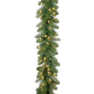 Baybery Spruce Garland with LED Lights - Christmas Garlands For Sale Dublin Ireland
