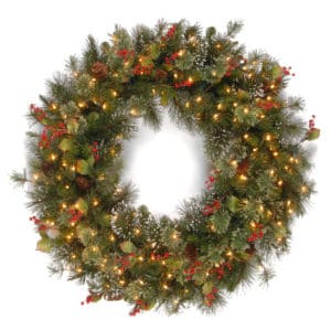 Wintry Pine Wreath - Christmas Wreaths For Sale Dublin Ireland
