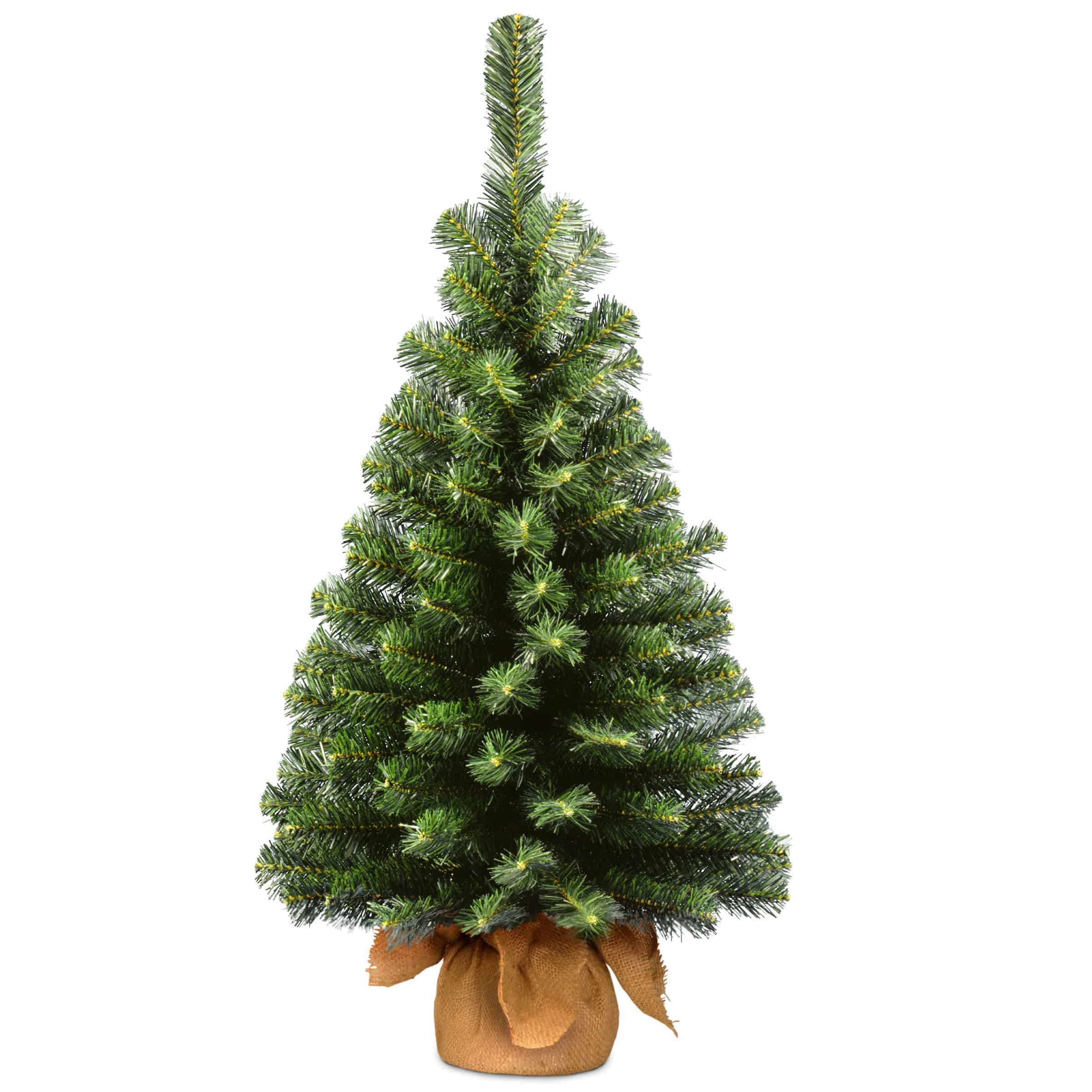 Artificial Christmas Trees Un Lit Christmas Trees Mini Artificial Christmas Trees Un Lit 3ft Noble Spruce Mini Artificial Christmas Tree In Burlap Sack Christmasland Ie