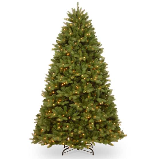 12ft Newberry Spruce Artificial Christmas Tree With LED Lights - Artficial Christmas Trees For Sale Dublin Ireland