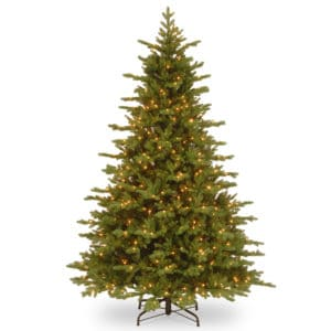 7.5ft Valencia Fir Pre-Lit Artificial Christmas Tree