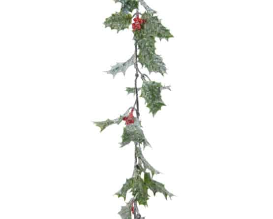 6ft Holly Berry Christmas Garland - Christmas Garlands For Sale Dublin Ireland