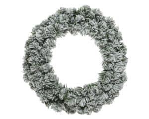 Snowy Imperial Christmas Wreath - Christmas Wreaths For Sale Dublin Ireland