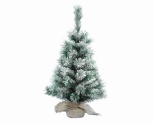 2.5ft Snowy Vancouver Mini Artificial Christmas Tree