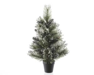 Frosted Finley Mini Artificial Christmas Tree - Artificial Christmas Trees For Sale Dublin Ireland