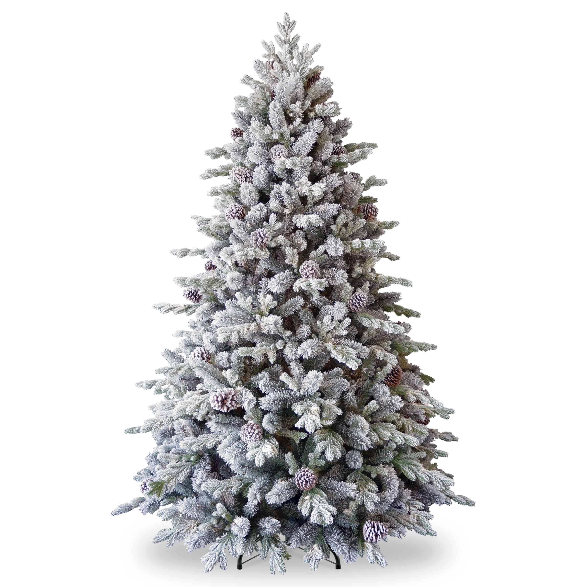 Snowy Waterford Pine - Artificial Christmas Trees for sale Dublin