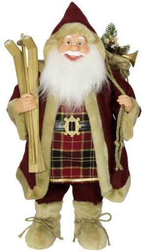 "60cm ""Albert"" Christmas Santa Figurine - Santa Figures For Sale Dublin Ireland"